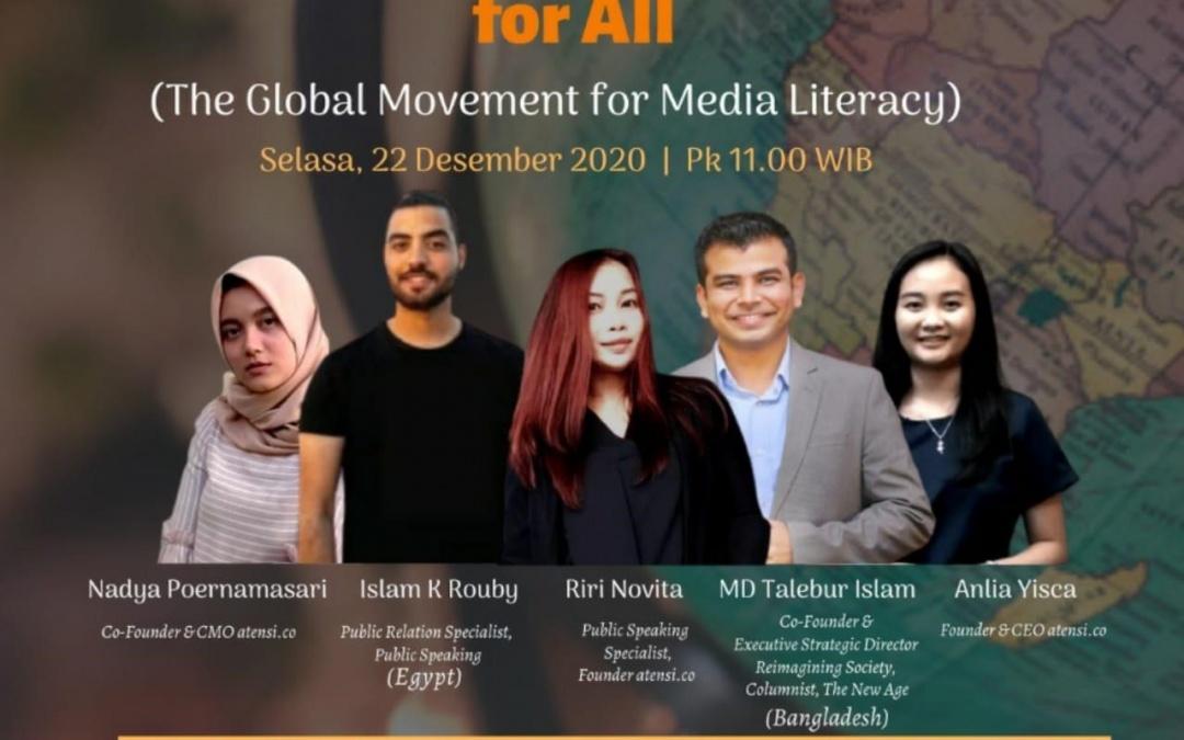 Pentingnya Literasi Media Masyarakat Demi Penggunaan Media Sosial Sehat