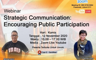 Communication Strategies, Ways to Encourage the Effective Public Participation
